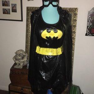 8 pc BATGIRL halloween costume Small